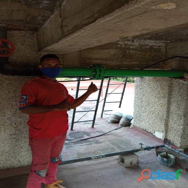 Servicios de plomeria electricistas pinturas albañileria herreria caracas miranda vargas los teques