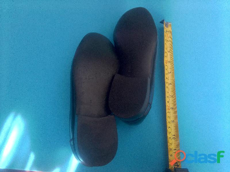 Zapatos de vestir para caballero, negros usados, No.38