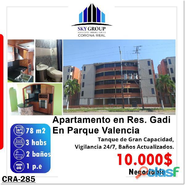 Apartamento en parque valencia. valencia carabobo