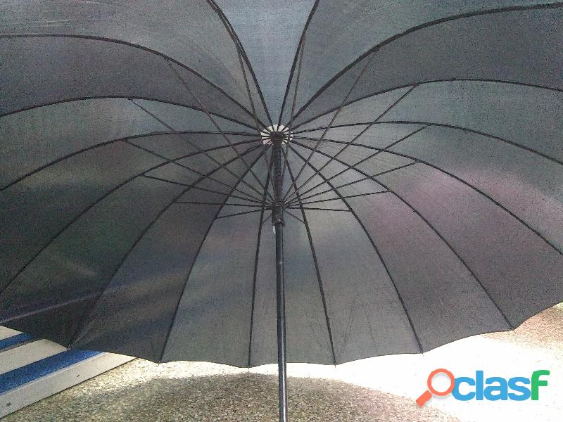 Paraguas para valet parking / paraguas negros