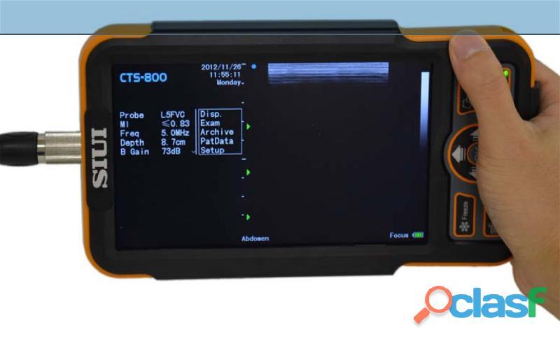Ultrasonido Veterinario Nuevo SIUI CTS 800 Ecografo Entrega Inmediata ! 1