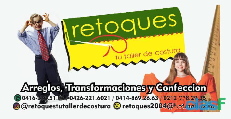 RETOQUES TU TALLER DE COSTURA