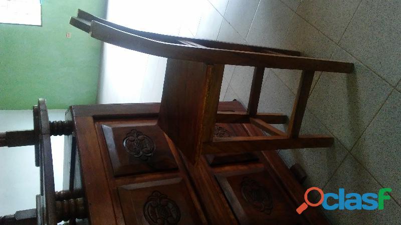 Bar grande de madera Caoba. 2