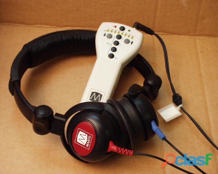 Audiometro maico portabale de conduccion aerea