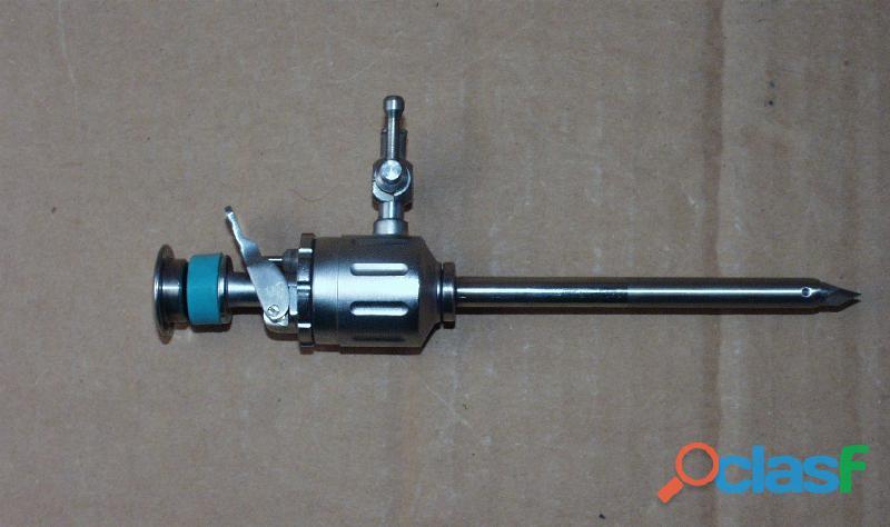 Trocar Reutilizable 5mm y 10 mm NUEVOS 1