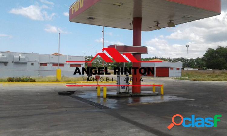 Fondo de comercio y estación de servicio en venta en maracaibo api 2122