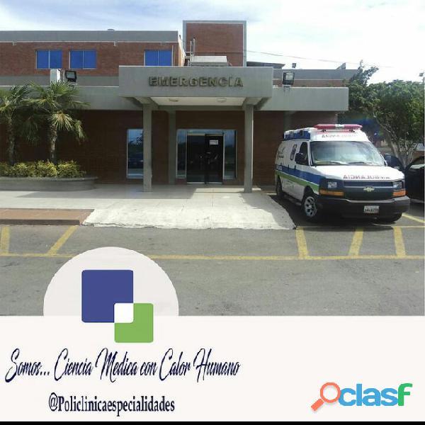 Acciones de la prestigiosa Policlínica de Especialidades. CASACOIMA