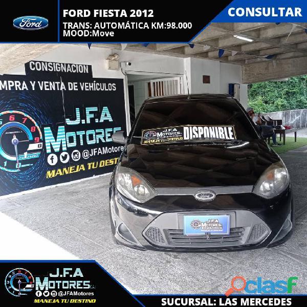 Ford fiesta move 2012