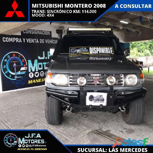 Mitsubishi montero dakar 2008
