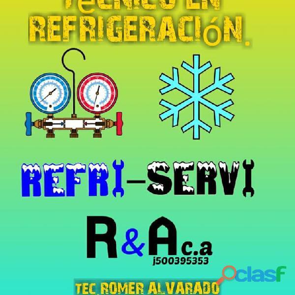 Servicio tec en refrigeración general